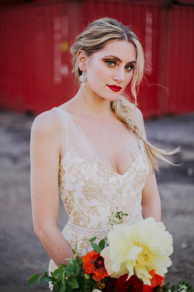 INDUSTRIAL WEDDING SHOOT VENDORS