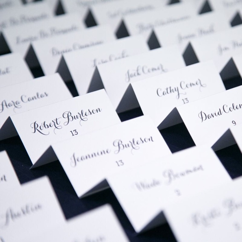 We often are asked if we do more then invitations. We certainly do! Type A™ does everything from save-the-dates to day-of stationery