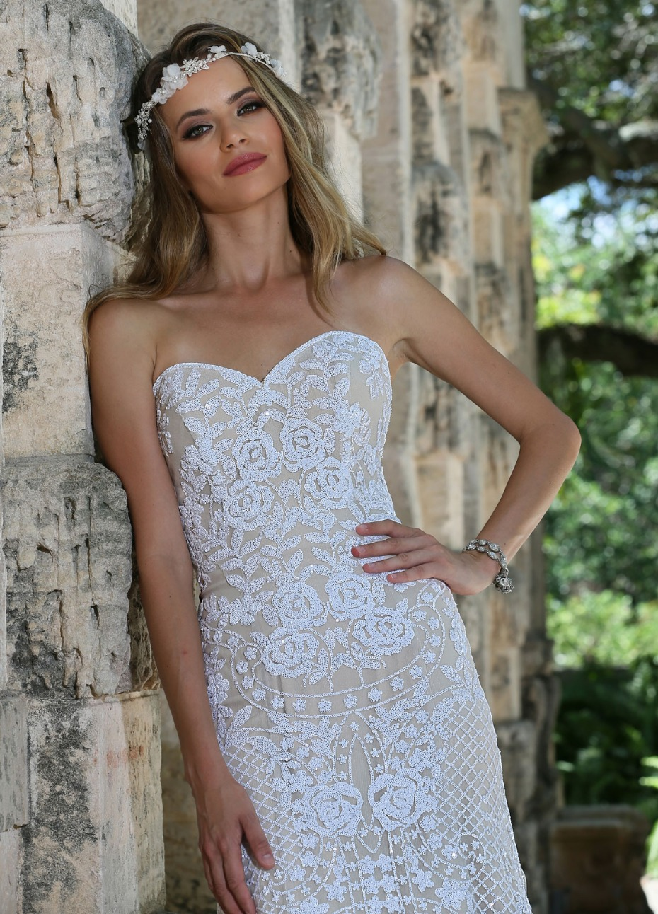 Ashley & Justin Bridal Trunk Show at Terry Costa