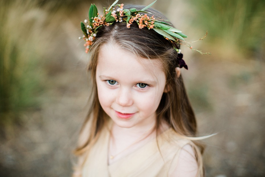flower girl flower halo