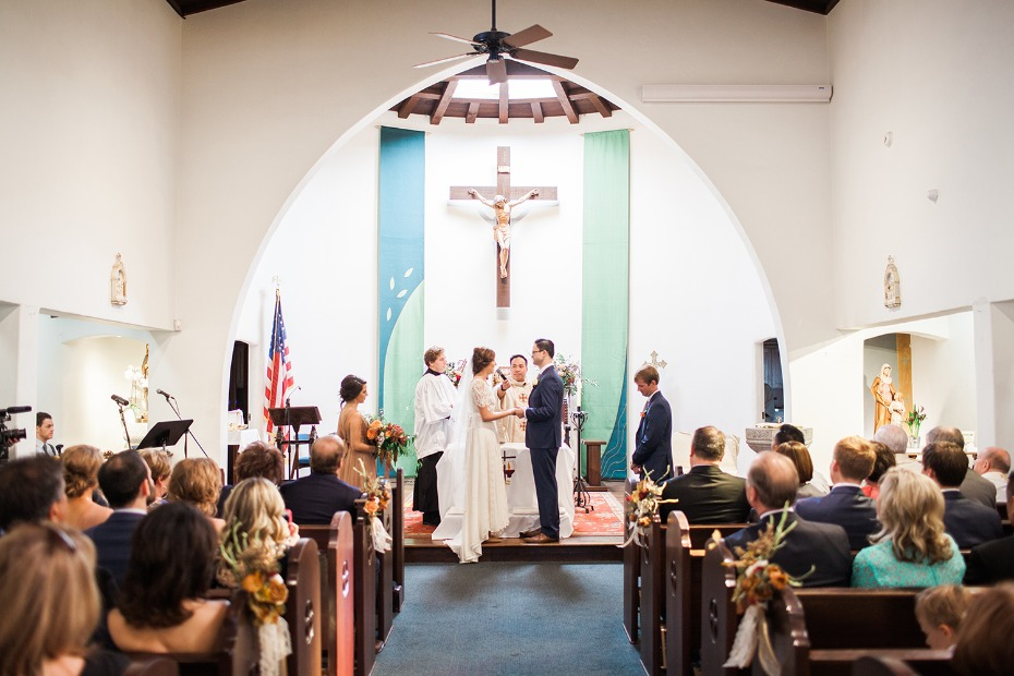 tying the knot in your home church