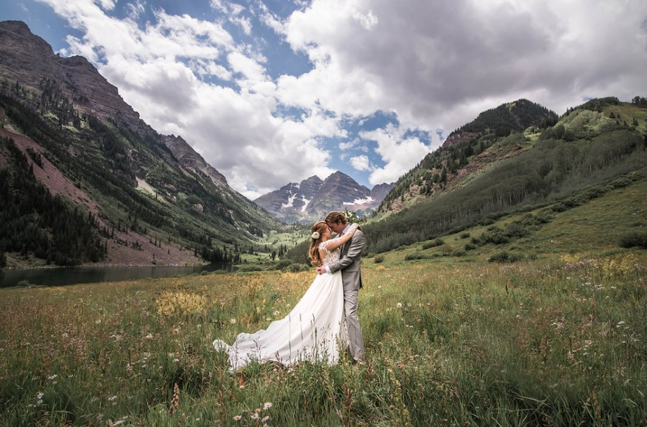 have a mountain valley all to yourself for your Colorado adventure wedding