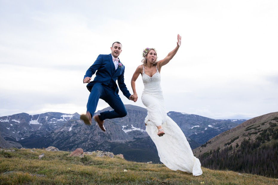 we are just as excited as this couple at the idea of an adventure wedding in Colorado