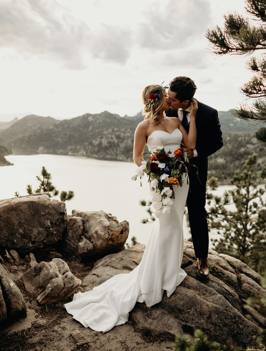Say I do at a remote lookout in Colorado