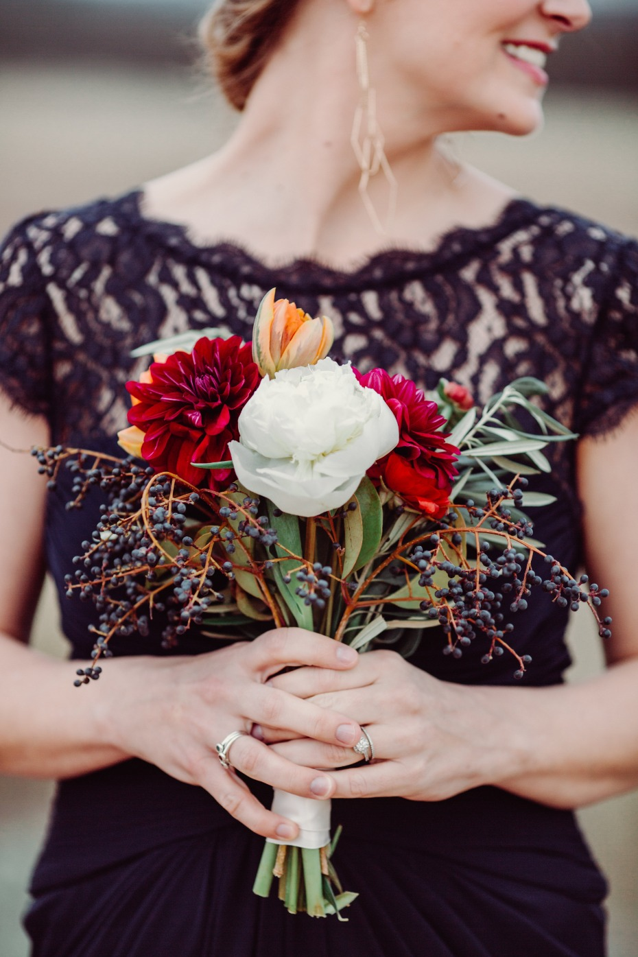 DIY bridesmaid bouquet from FiftyFlowers