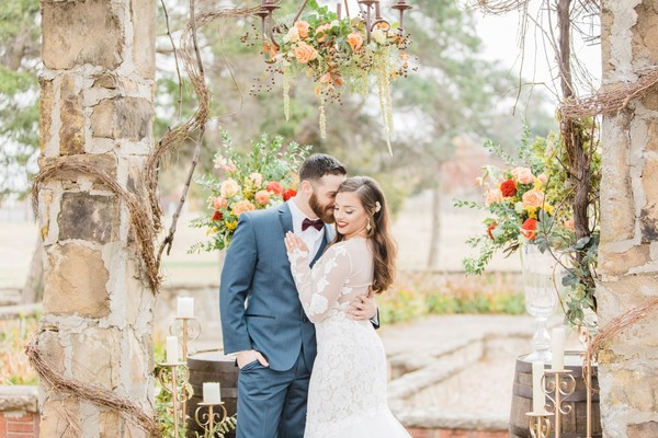 How To Have A Rustic Italian Fall Wedding In The Heart Of Oklahoma