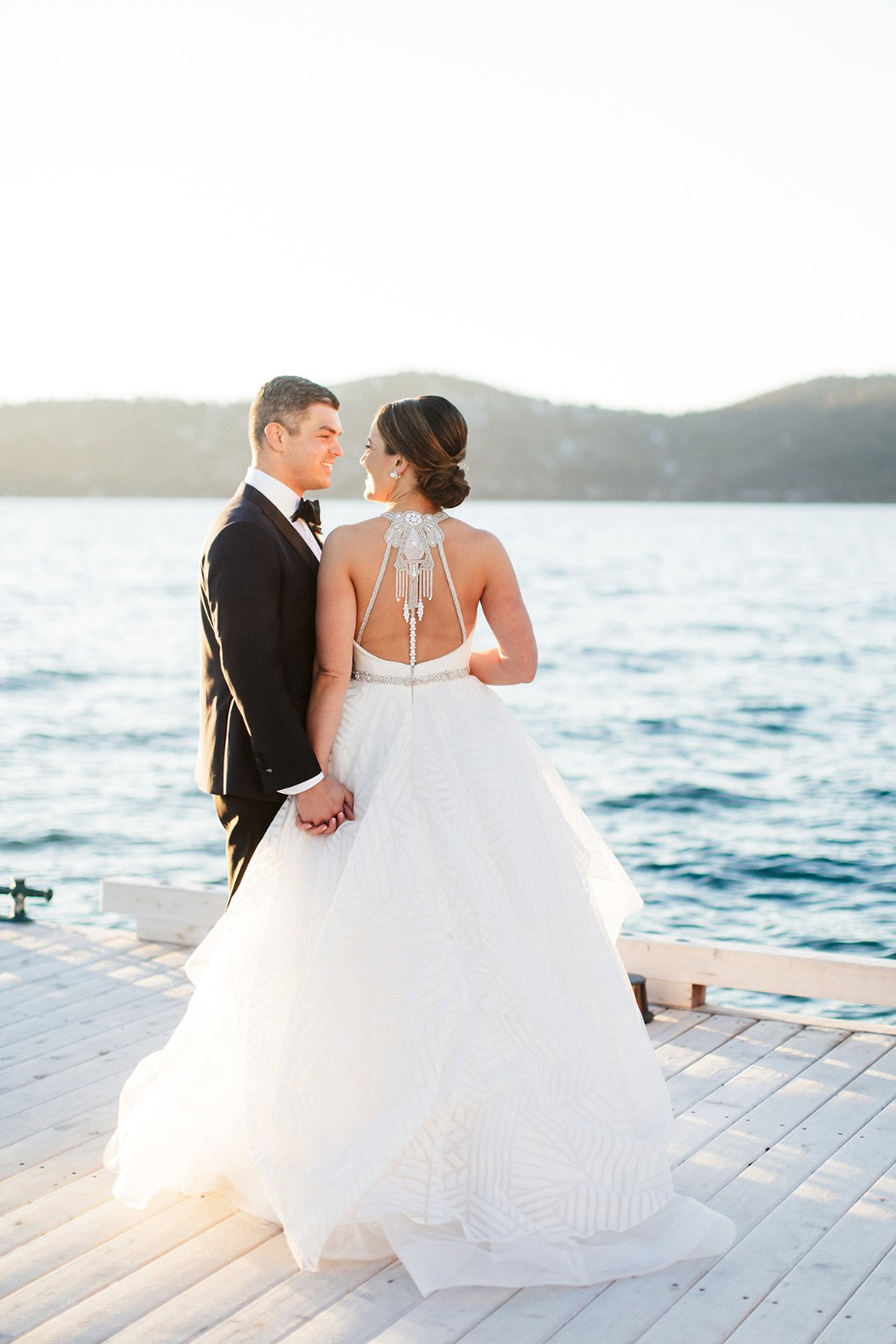 Gorgeous Hayley Paige gown