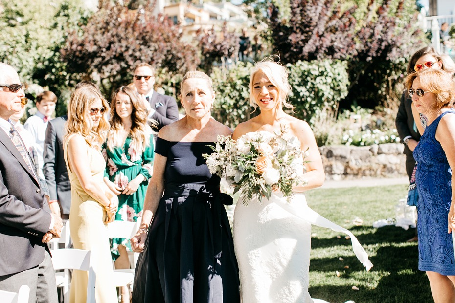 here comes the bride and the mother of the bride