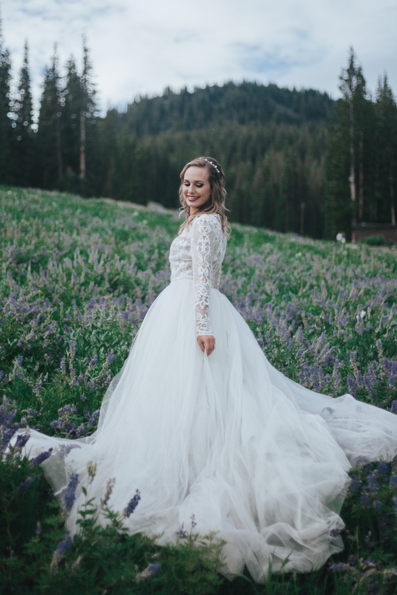 Exquisite wedding gowns designed by Betsy Barker. With an ethereal and free-spirited approach to bridal, each dress embodies the emotion