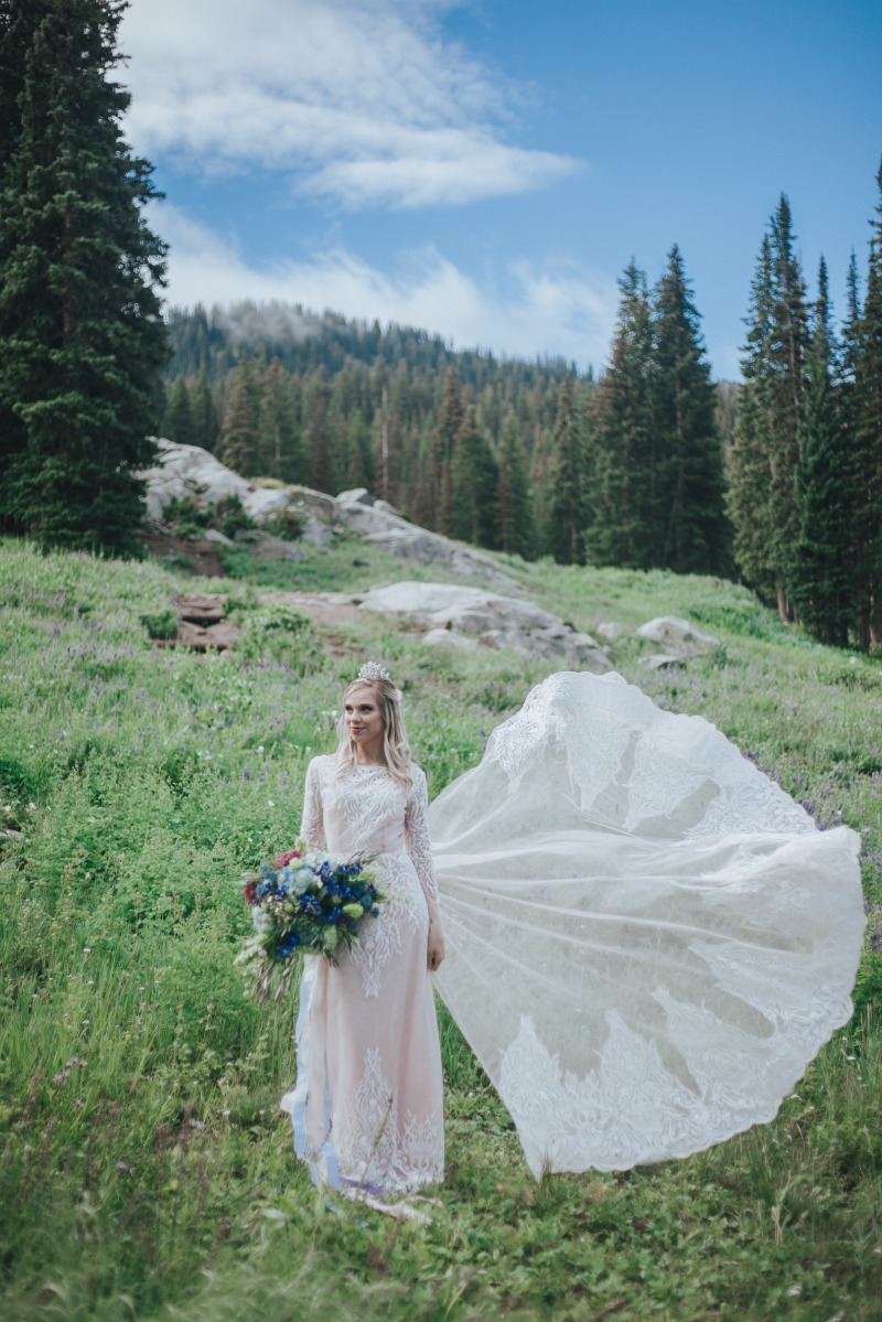 Exquisite gowns for brides designed by Betsy Barker. With an ethereal and free-spirited approach to bridal, each dress embodies the