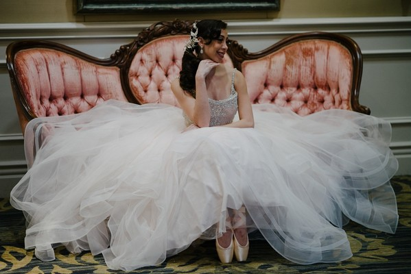 Prima Ballerina Wedding Inspiration With IRL Ballet Dancers!
