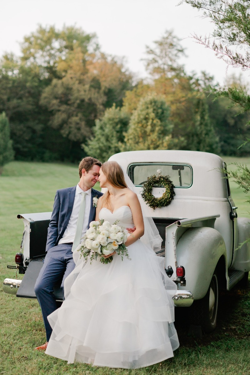 Val + Jake's wedding, tucked into the rolling hills outside of Nashville.