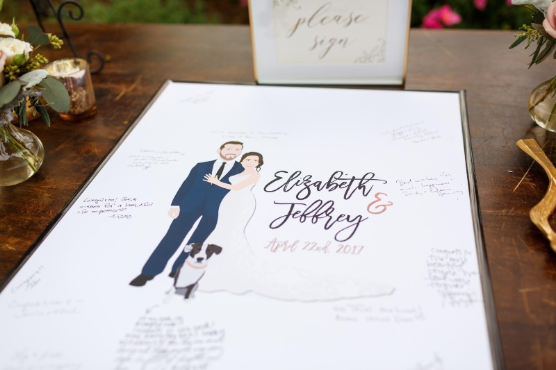 If you want your guest book to be a HIGHLIGHT of your wedding day, then you have come to the right spot :) Custom illustrated pieces