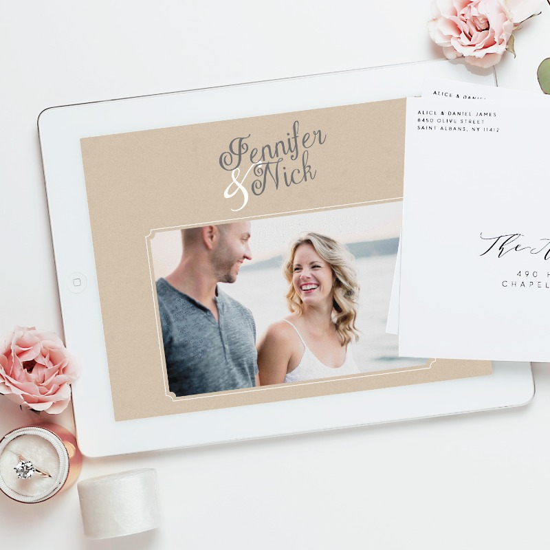 Our all new wedding websites are live and the perfect addition to our wedding line!