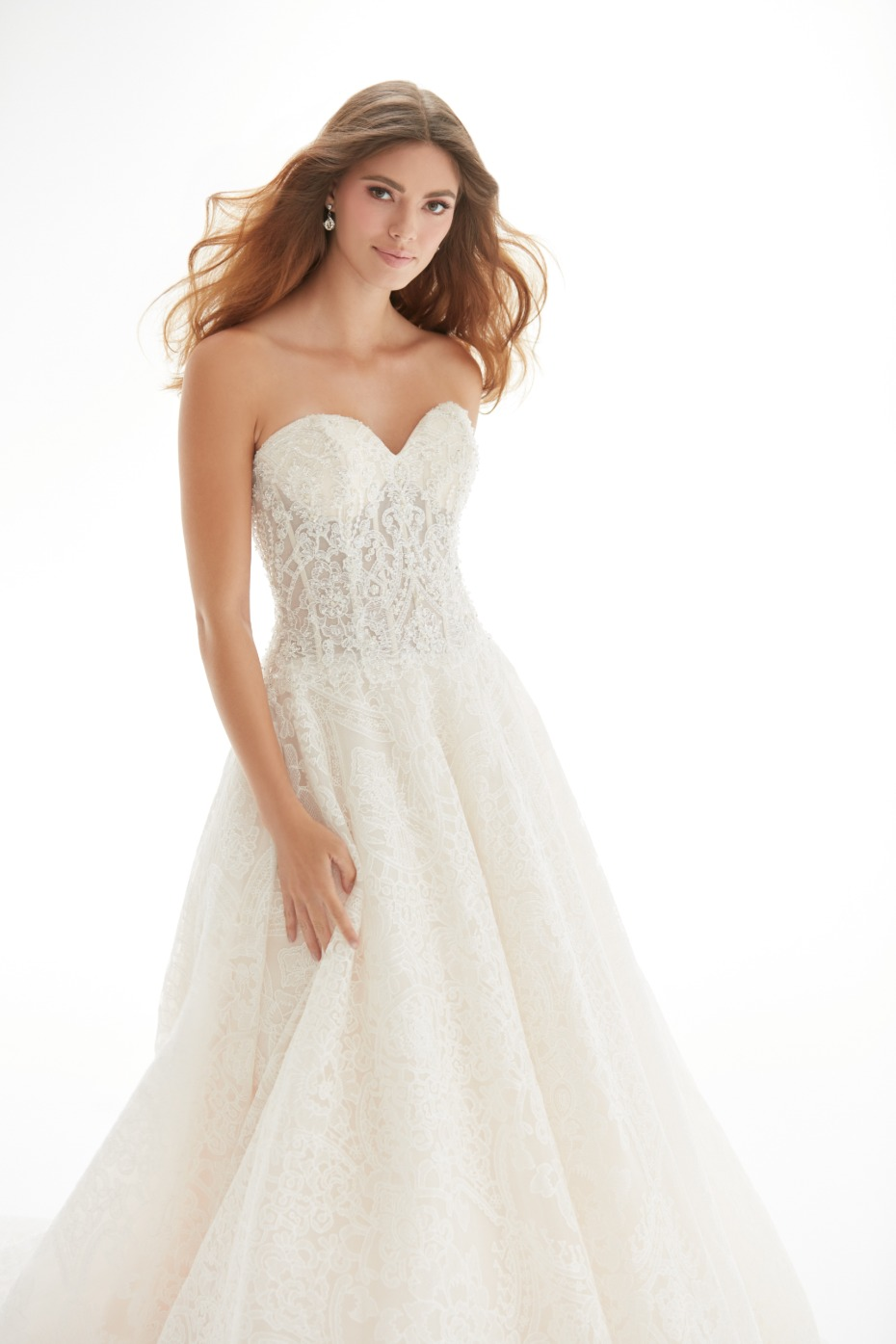 Lace gown from Allure Bridals Collection