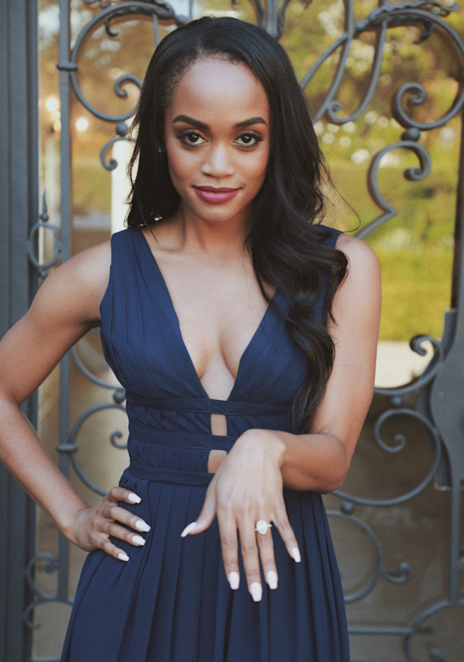 Vow to be Chic Rachel Lindsay