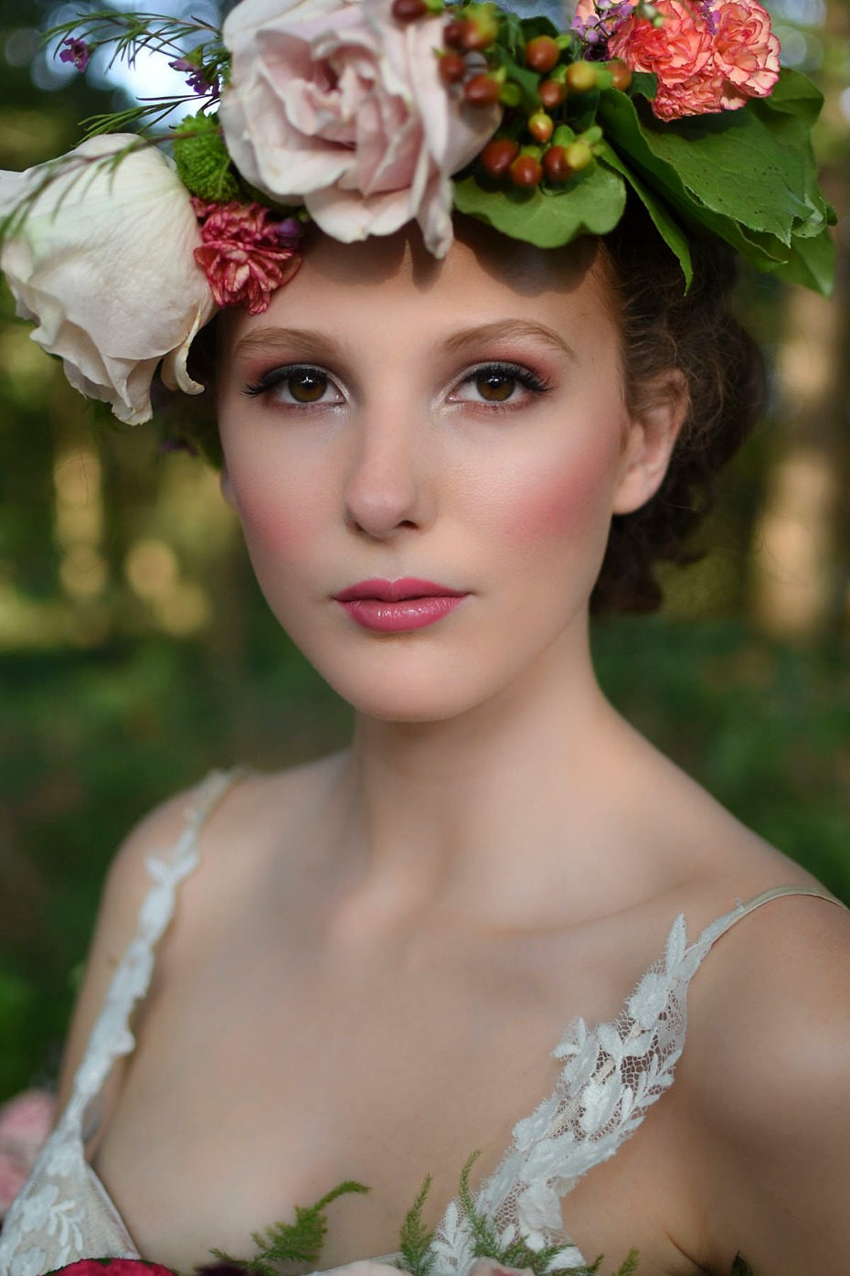 beautiful wedding makeup idea