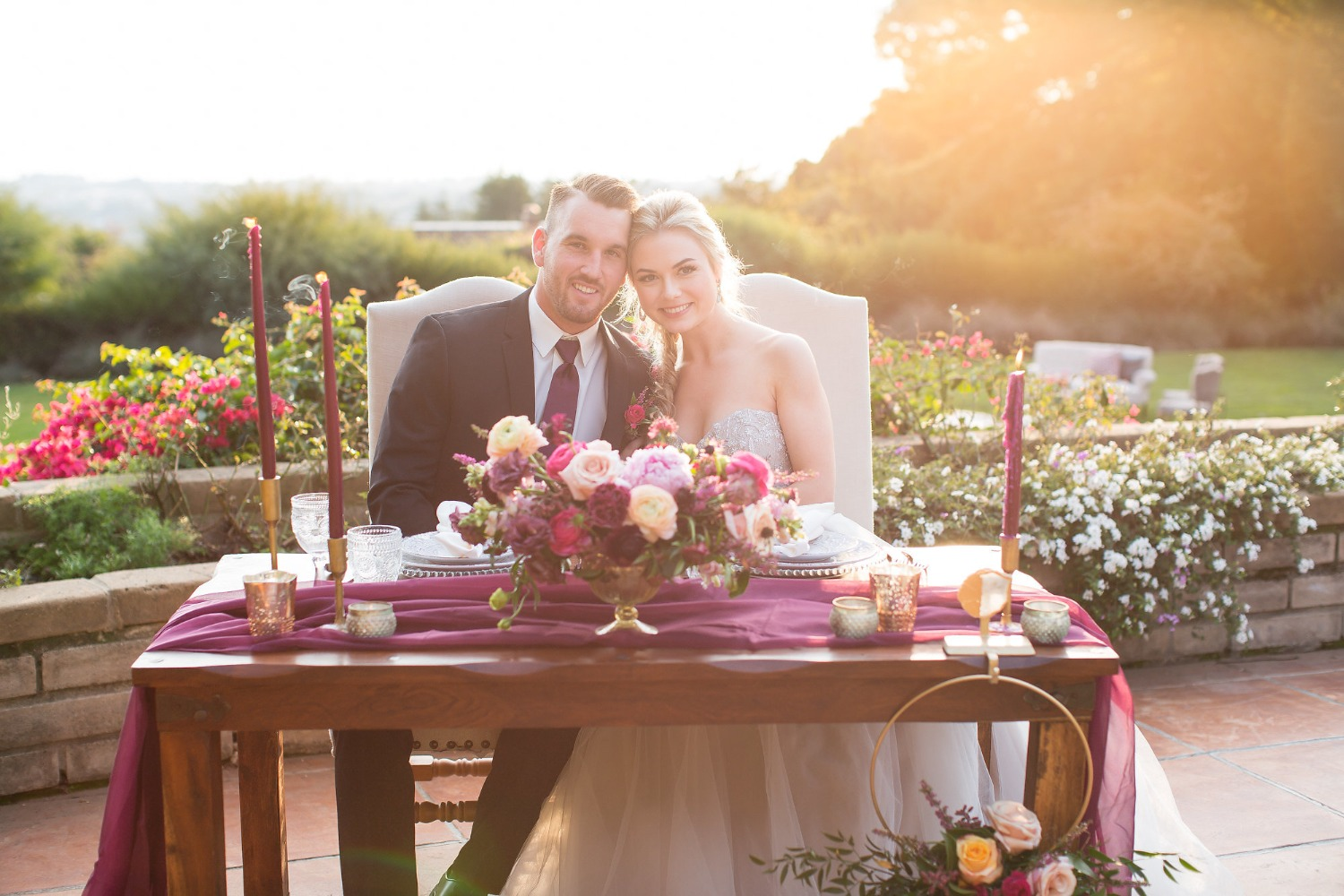 Bring on the Romance with this Dream Sunset Wedding Inspiration