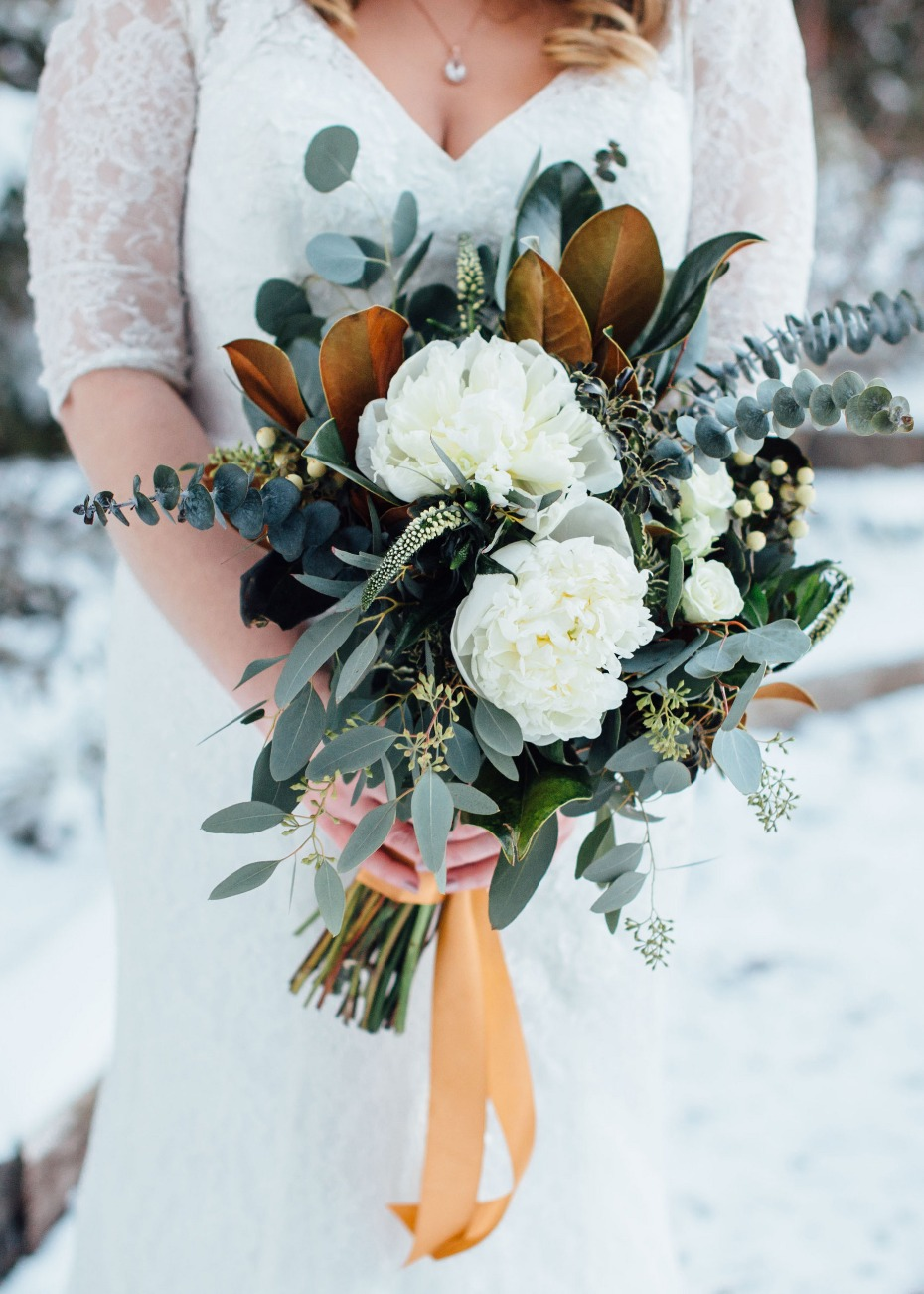 Bouquet for the winter bride