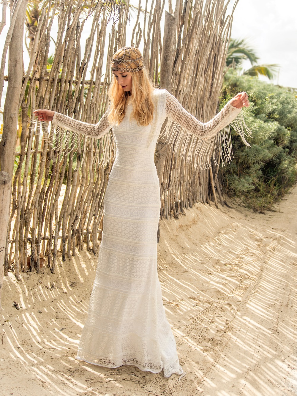 Trending - Boho Bridal Gowns From Island Tribe