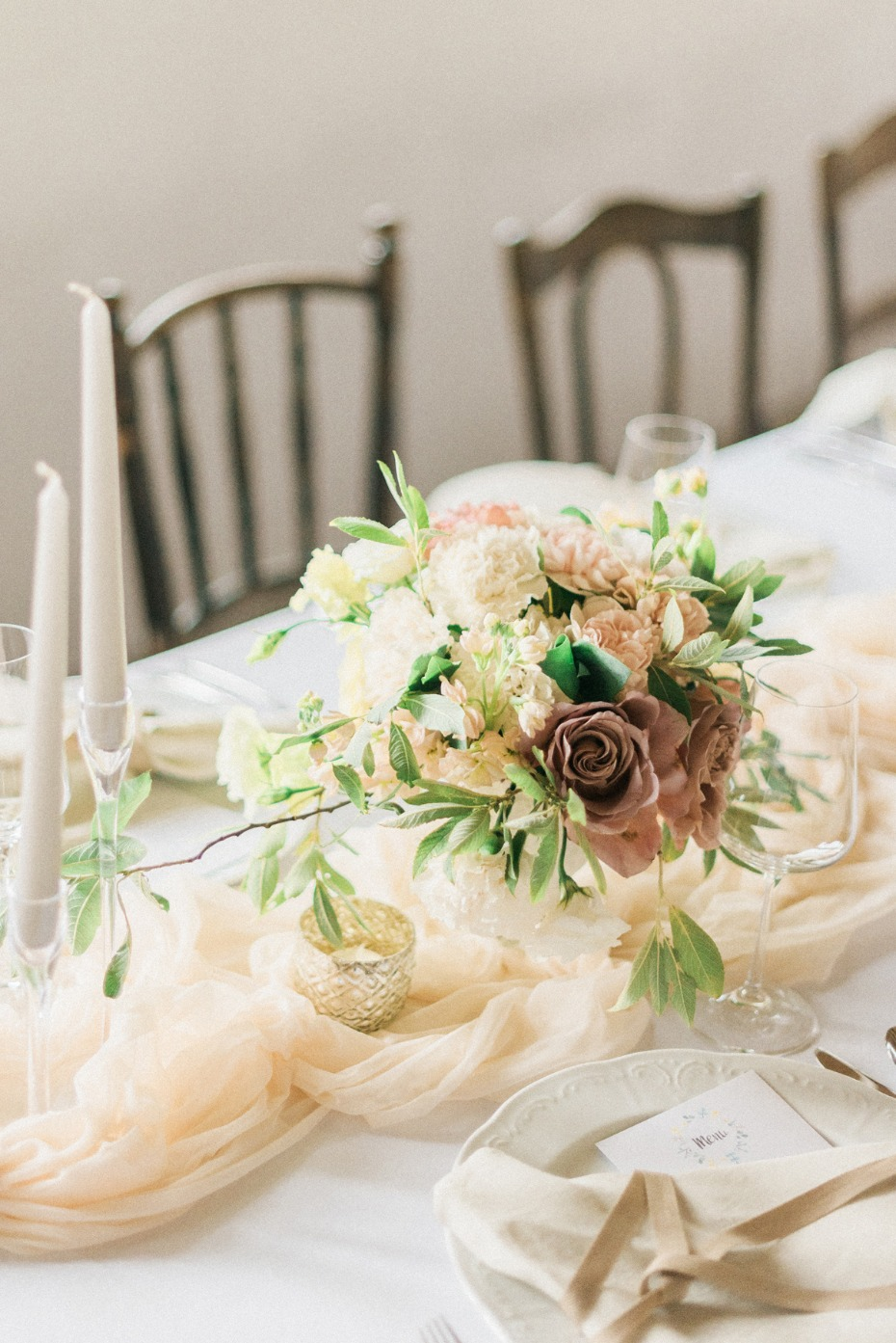 Soft centerpiece idea
