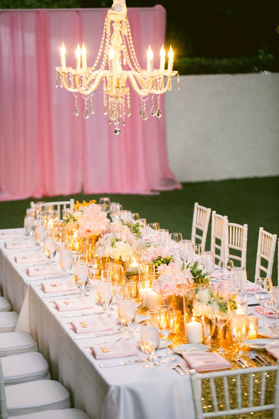 Glamorous Palm Springs reception