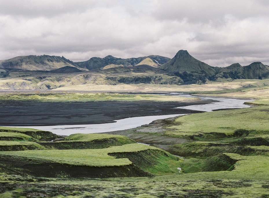 The natural beauty for Iceland