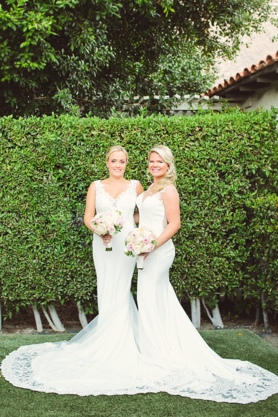 Beautiful Mrs. and Mrs. wedding in Palm Springs