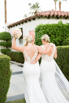 Whitney & Megan of What Wegan Did Next, Got Married, Wanna See?