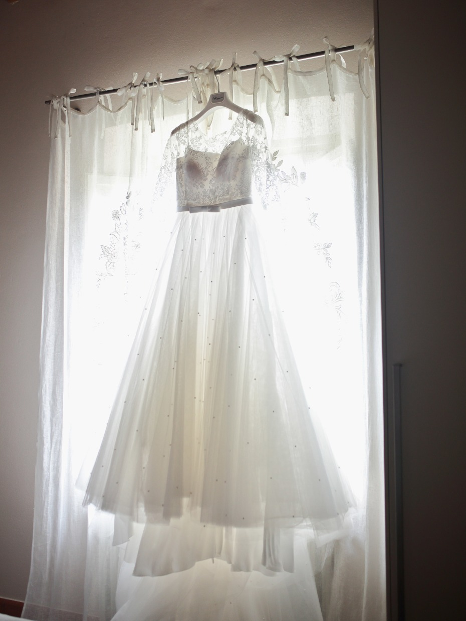 Blumarine wedding dress