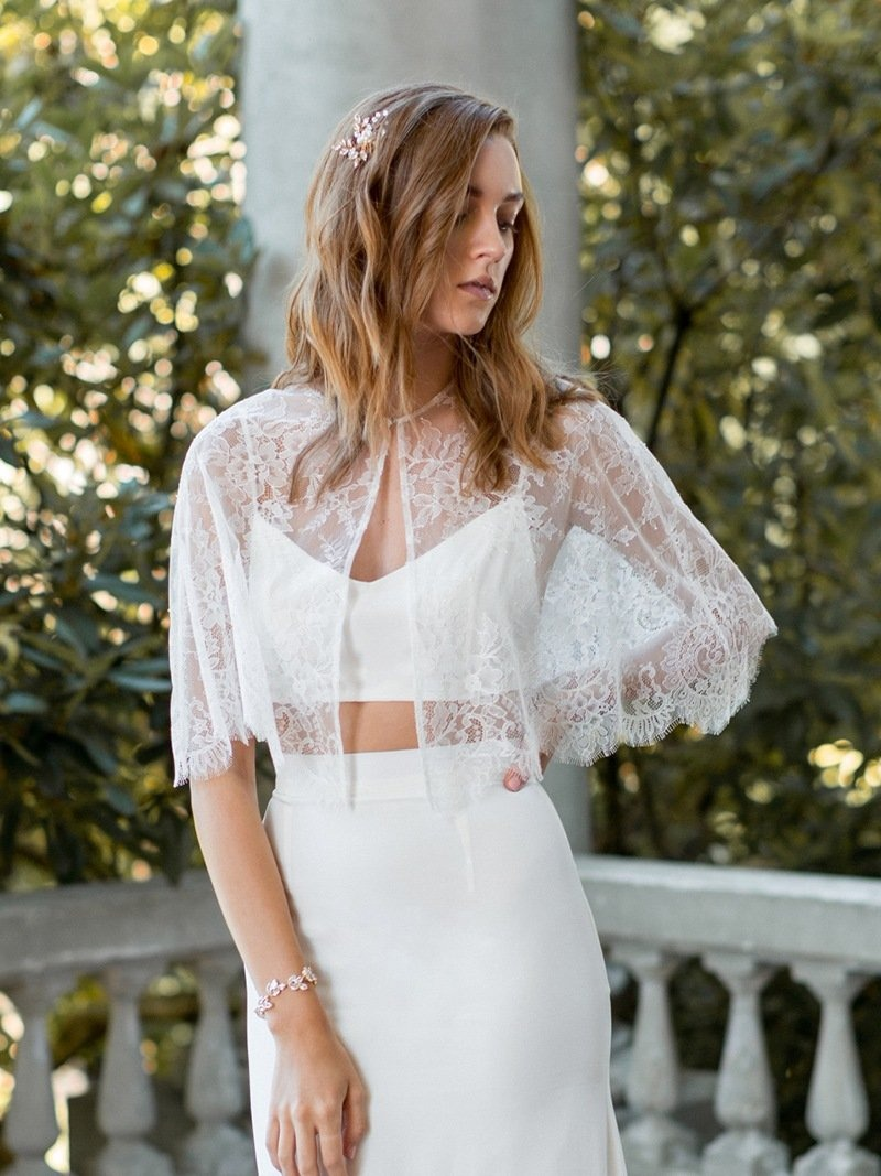 The perfect summer look: bridal separates.