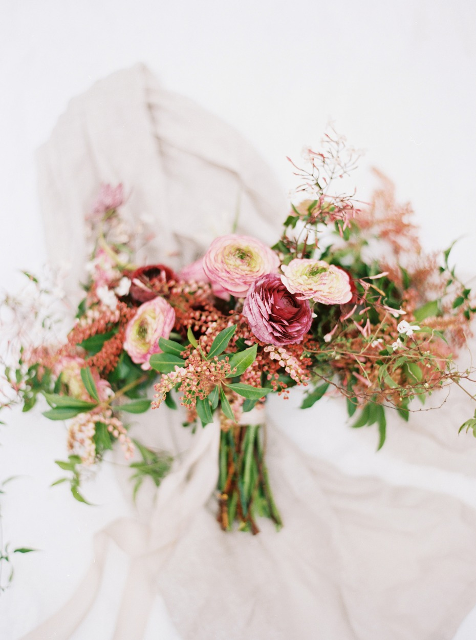 bright and vibrant wedding flowers