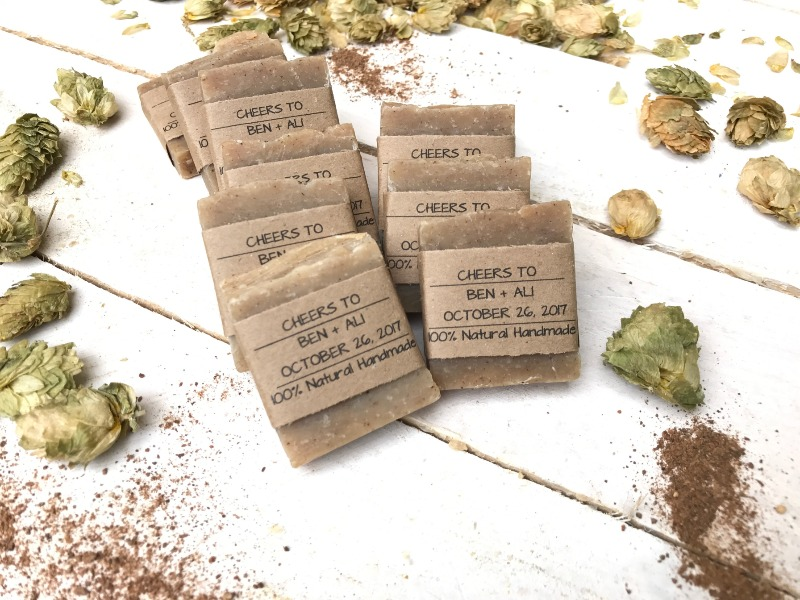 Pumpkin Spice Wedding Favors! Our pumpkin spice wedding favors are made with organic pumpkin spice blend, home brewed beer and natural