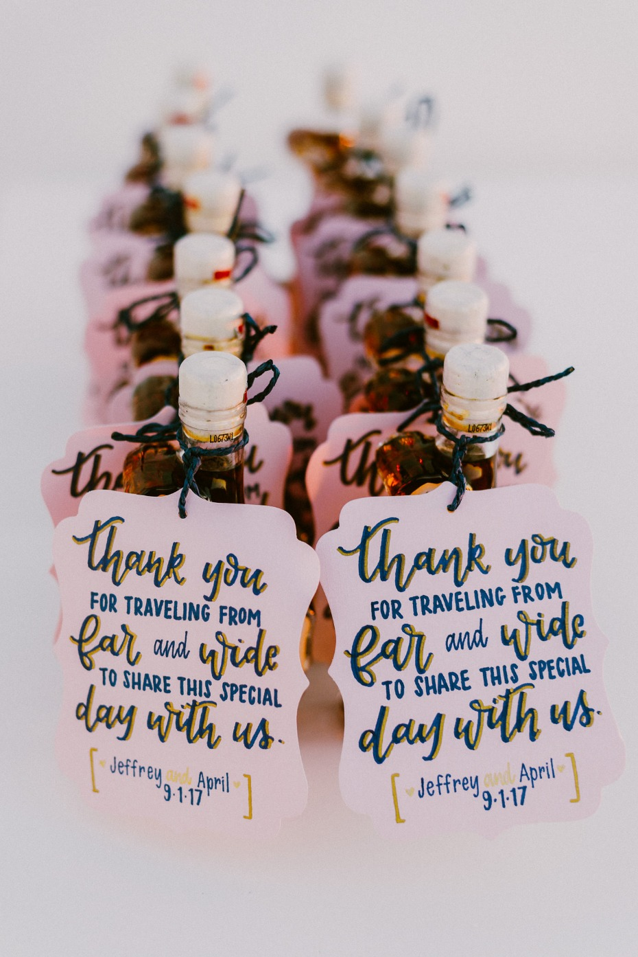 thoughtful wedding favors