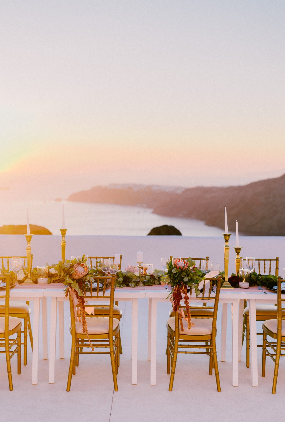 A Santorini Wedding At The Rocabella Hotel