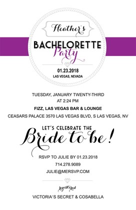 Free Printable Bachelortte Party Invitations