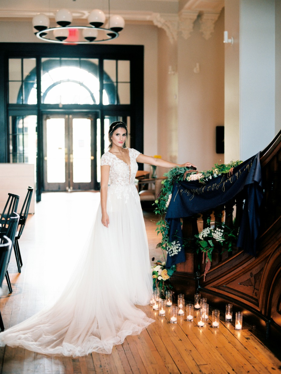 elegant bridal style for your fall wedding