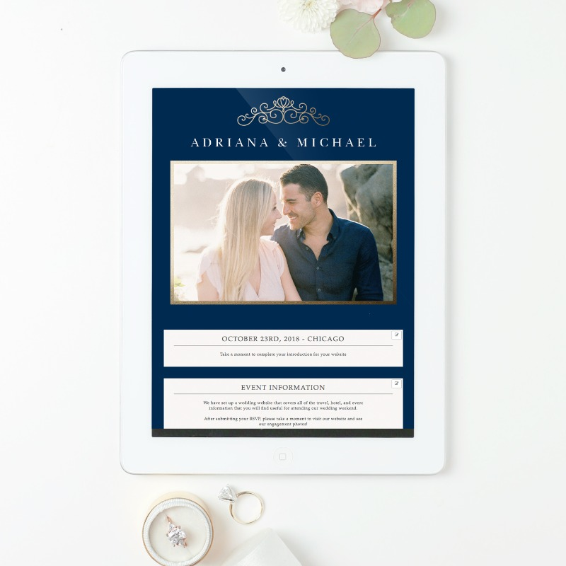 New product alert! And it's free! Our all new customizable wedding website have launched and they are a must for the upcoming wedding
