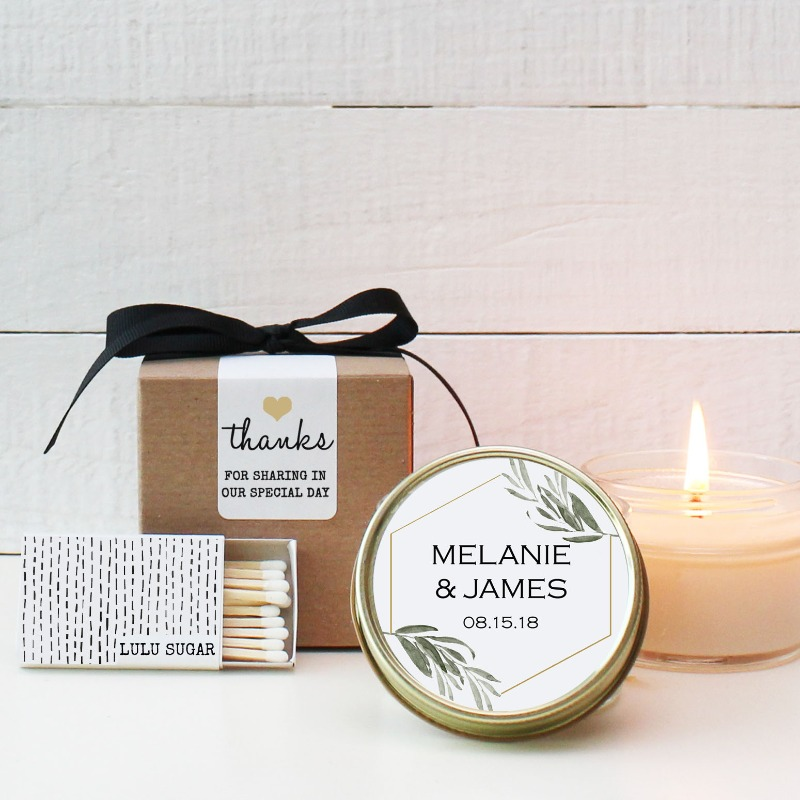 As you requested! You can now purchase boxes with our candles and we will throw in the matches :)