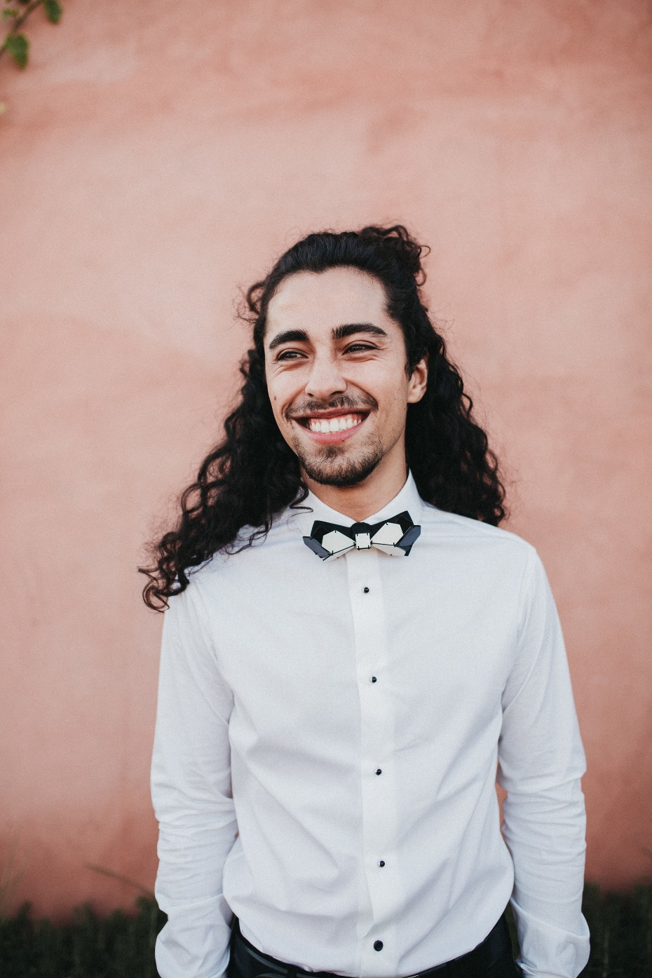 hip and on-trend groom look