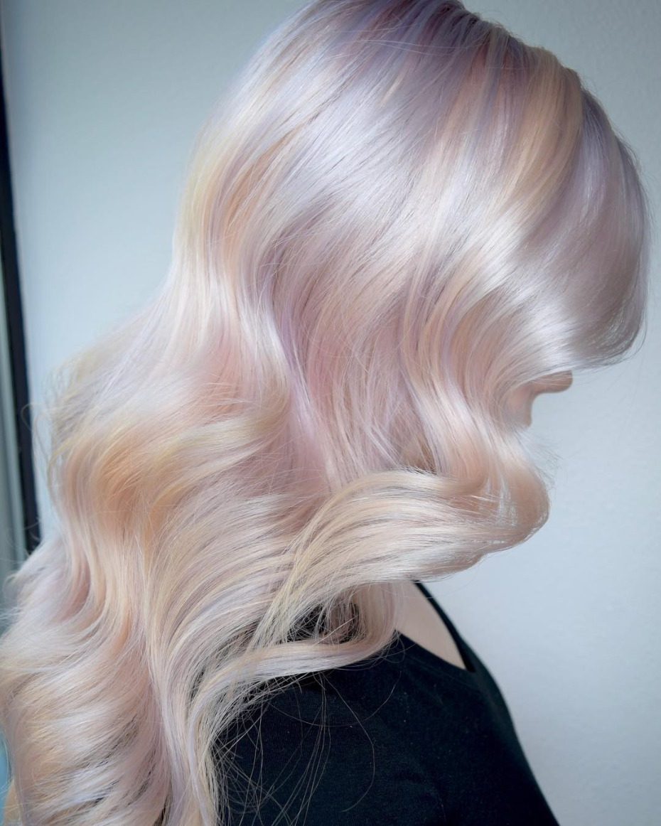 Hollywood Opal Hair Trend for Brides
