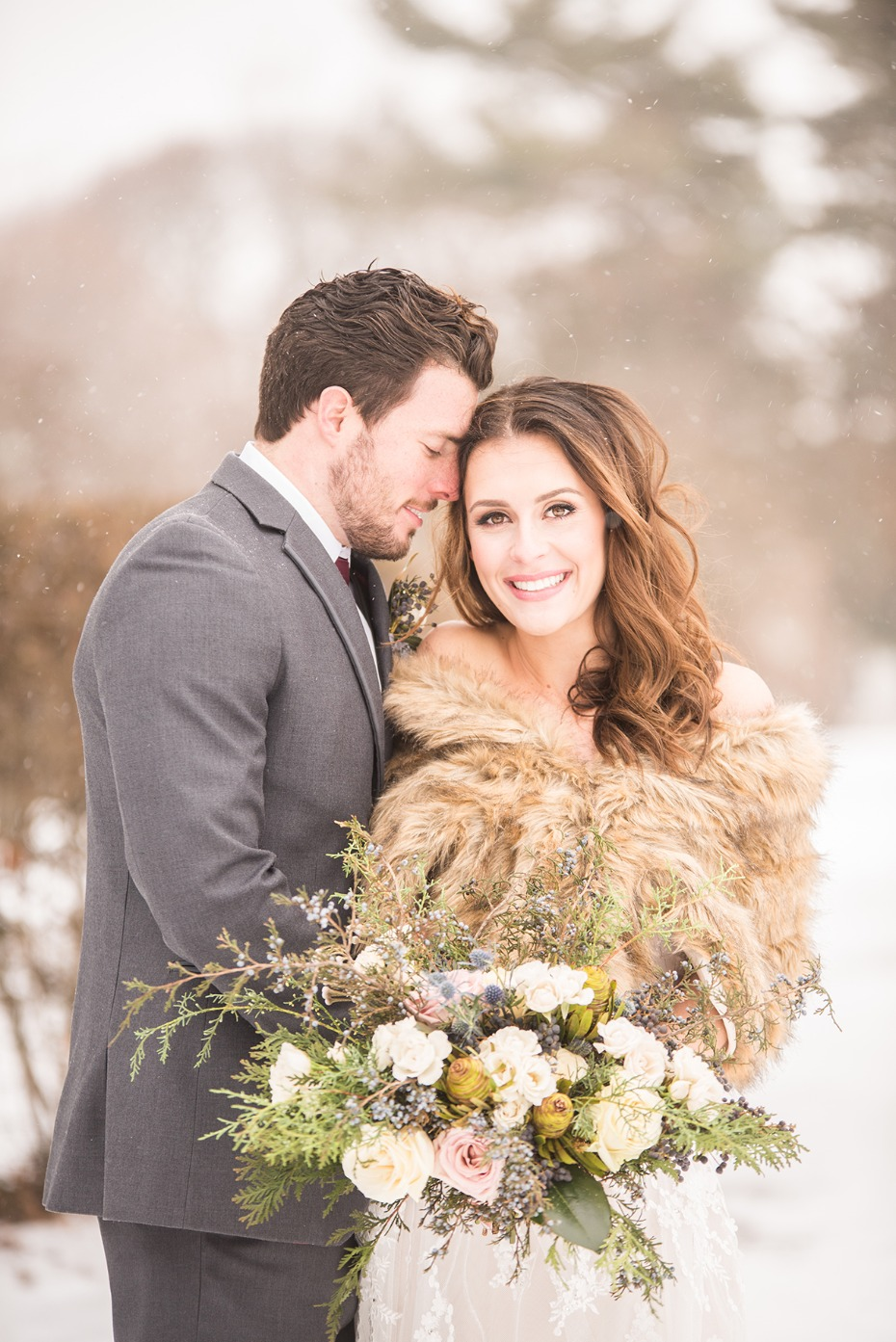 winter wedding style you cant help but love