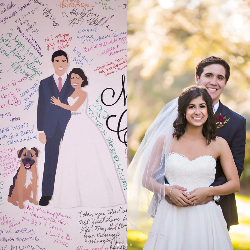 Can you say relationship goals? We may be talking about this bride and groom but we may also be talking about this groom and pupper