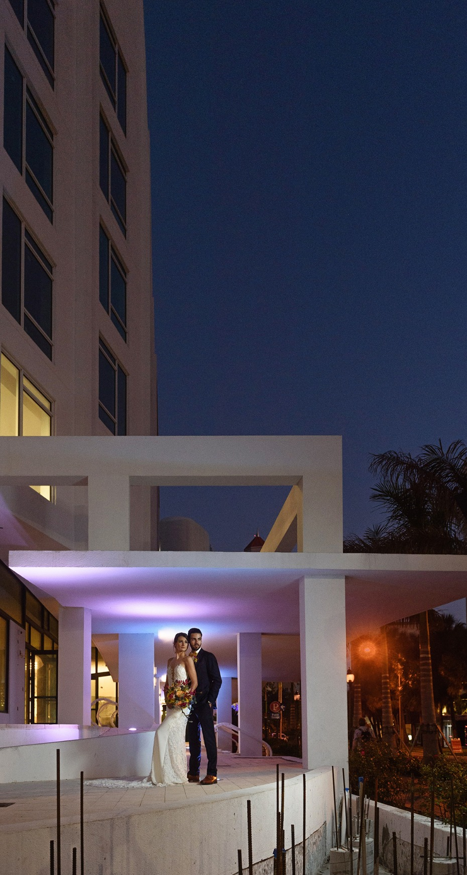 The Art Ovation Hotel in Florida is a hot new wedding venue