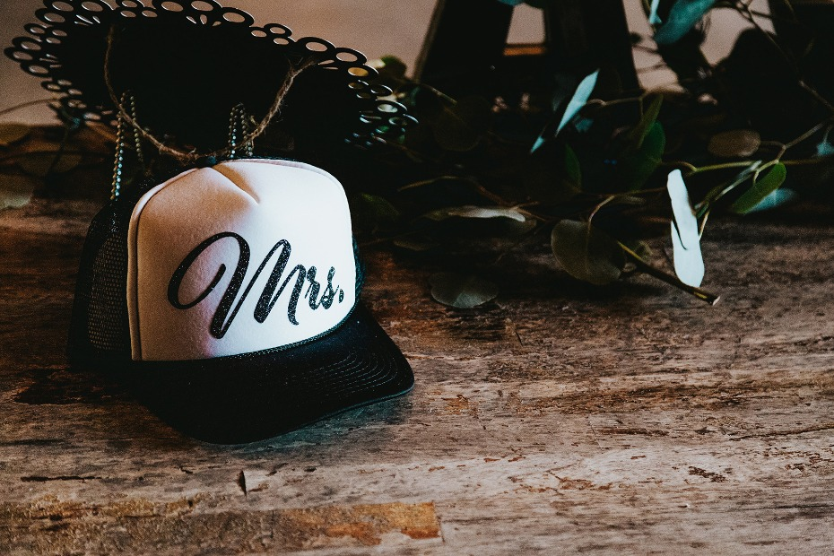 Mrs. trucker hat