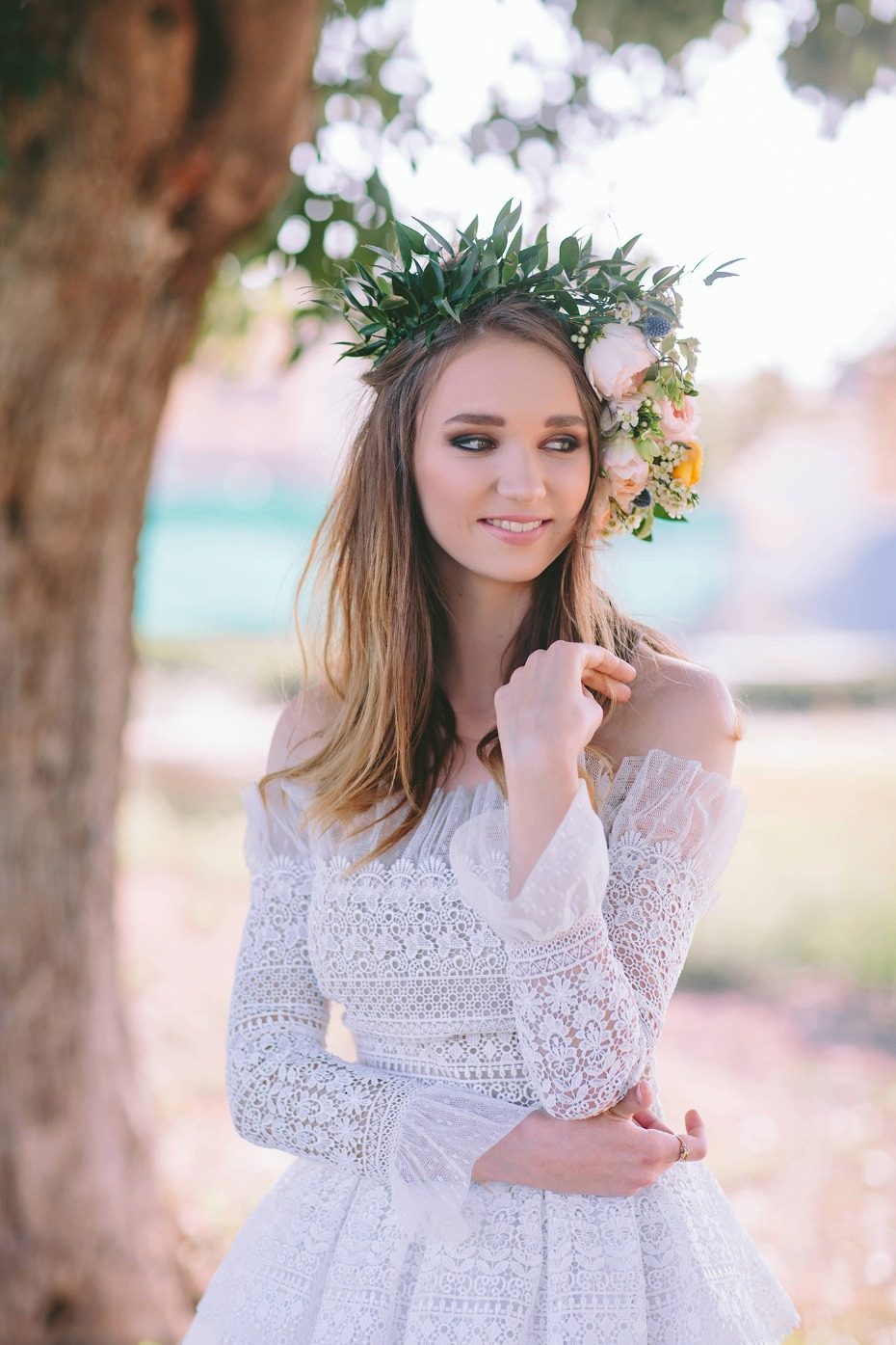 Boho flower crown #goals