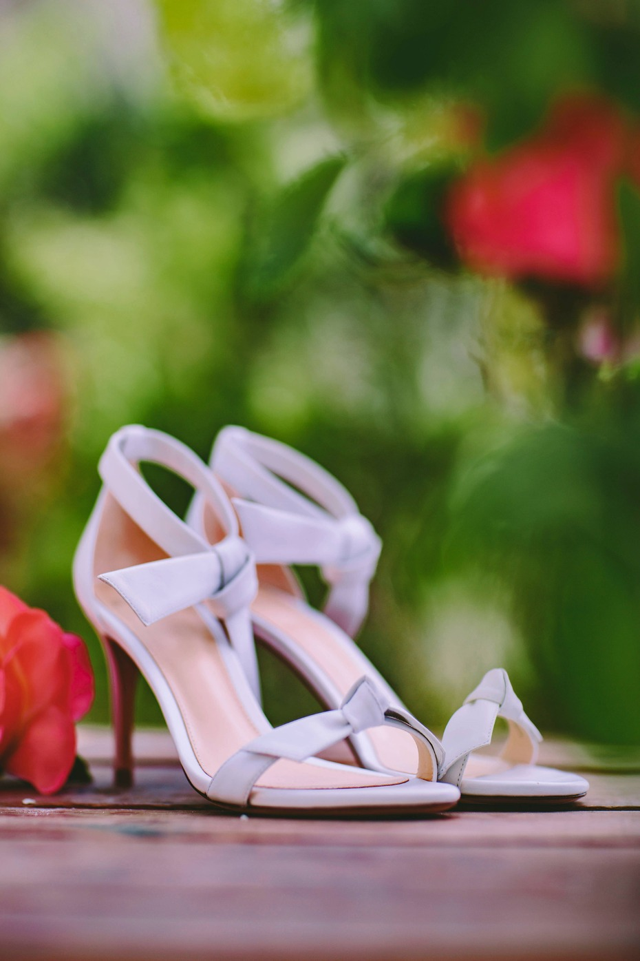 Pretty pumps for the bride