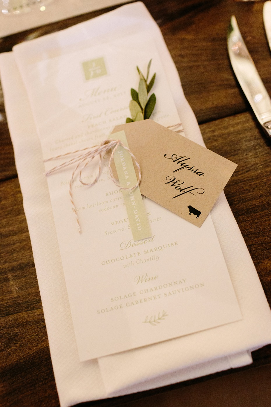 elegant place setting ideas