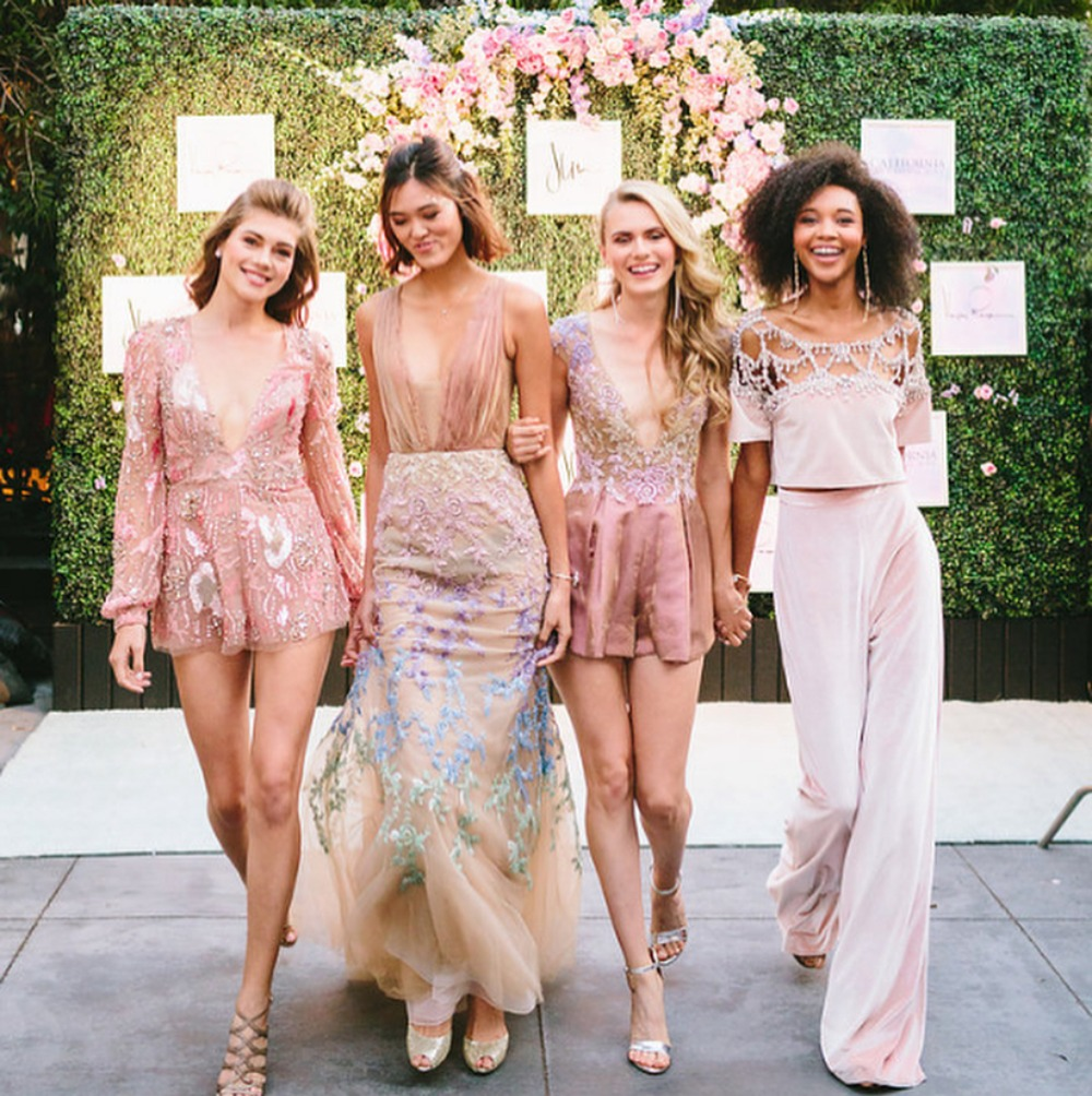 Pink Just Made Every Edgy Bride's Dreams Come True