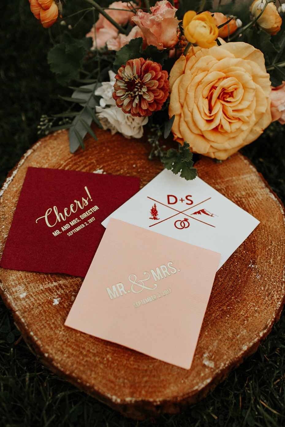 custom cocktail napkins